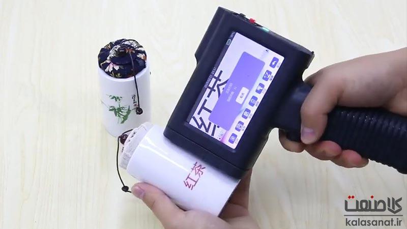 جت پرینتر دستی و قابل نصب روی نوار Bentsai مدل B2